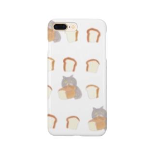 ゆるいブリショは食パンが好き Smartphone cases
