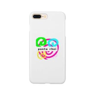 ―落書きシリーズ―panta rhei (万物は流転する) Smartphone cases