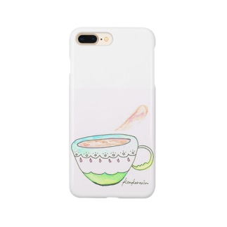 夢の中で出されたカプチーノ Smartphone cases