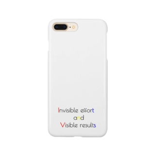 Invisible effort and visible result Smartphone cases