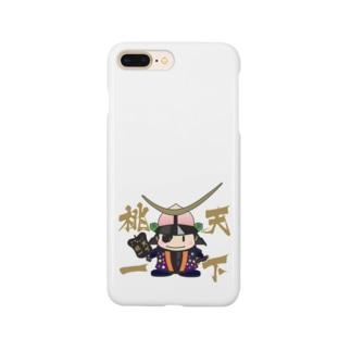 するめ侍の天下桃一 from ふくしま Smartphone cases