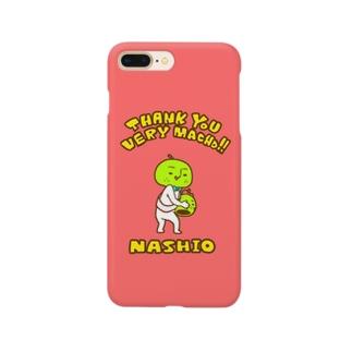 ミニマム梨男スマホケース【PINK】 Smartphone cases