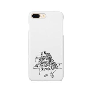 金銀の鈴を見せるぺけ Smartphone cases