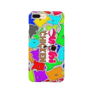 iPhoneが寿司チキンっぽくなるやつ-SUSHICHICKE KUN Edition Smartphone cases