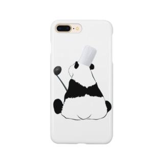 シェフなパンダ Smartphone cases