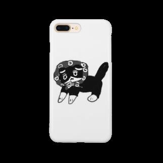 hona_の突撃!隣の晩御飯 ねこ Smartphone cases