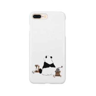 ドリップ待ちのパンダ🐼 Smartphone cases