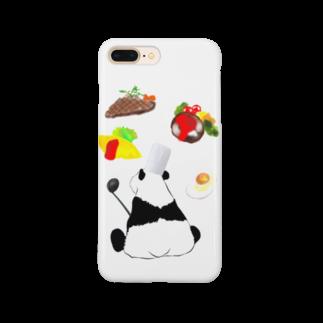 KaNaN〜パンダの料理人パンダ Smartphone cases