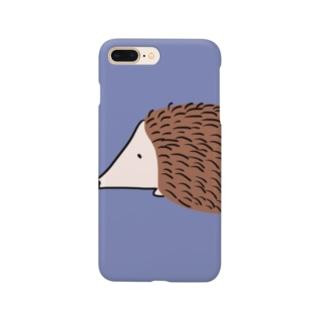 どあっぷなはりねずみ Smartphone cases