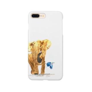 Ndovu【地球上最後の1頭を守るプロジェクト】 Smartphone cases