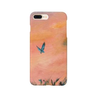 ムラナギ/蝶 Smartphone cases