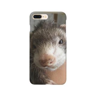 ぶそくれたフェレット Smartphone cases