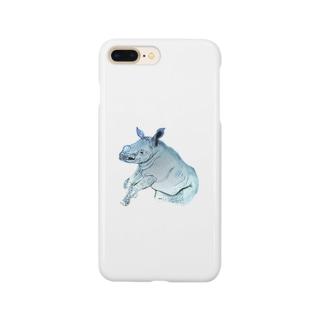 Kifaru【地球上最後の1頭を守るプロジェクト】 Smartphone cases