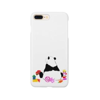 お片づけできないパンダ🐼 Smartphone cases