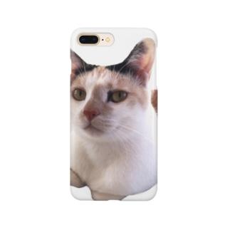 ミケねこです。 Smartphone cases