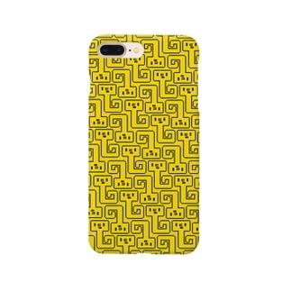NYORO GRAM yellow スマートフォンケース