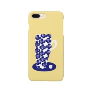 はなコップ(黄色) Smartphone cases