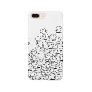 どどねこ-たくさん- Smartphone cases