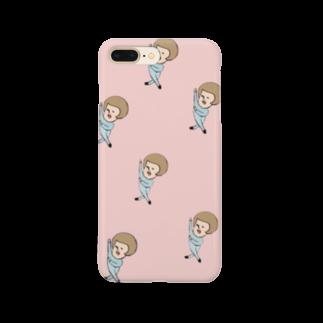 925yokoのホレホレくん Smartphone cases