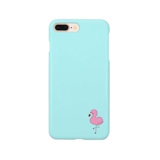 ふらみんご[BLUE] Smartphone cases