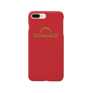 すいか[RED] Smartphone cases