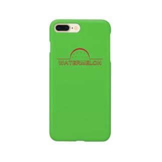 すいか[GREEN] Smartphone cases
