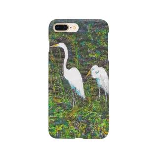 サギ02 Smartphone cases