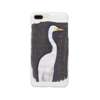 サギ01 Smartphone cases