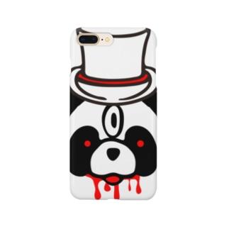 key.のエキセントリックアニマル パンダ Smartphone cases