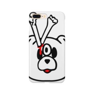エキセントリッククアニマル 犬 Smartphone cases