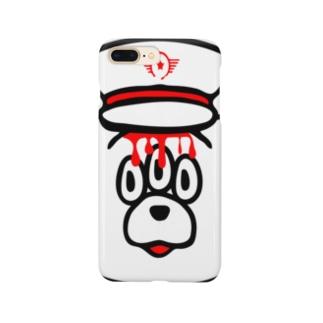 エキセントリッククアニマル くま Smartphone cases