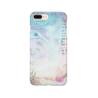 マーブルプラス☆ブルー Smartphone cases