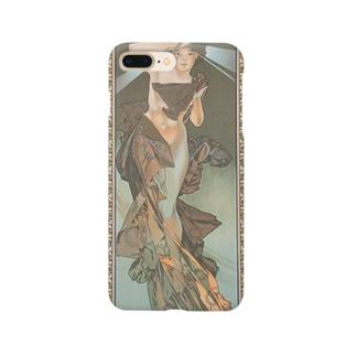 四つの星-暁の明星(1902)ミュシャ Smartphone cases
