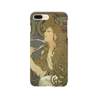 ジョブ(1896)ミュシャ Smartphone cases