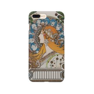 黄道十二宮 (1897)ミュシャ Smartphone cases