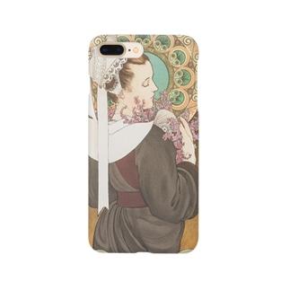 岸辺のエリカ (1902)ミュシャ Smartphone cases