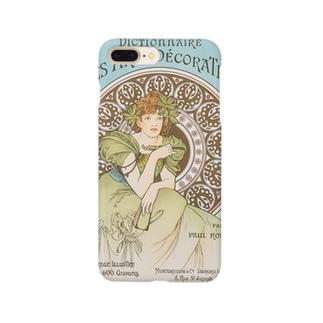 装飾美術辞典 (1902)ミュシャ Smartphone cases