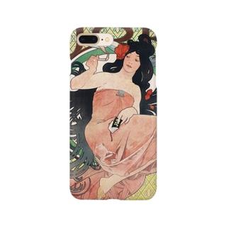 ジョブ ミュシャ Smartphone cases