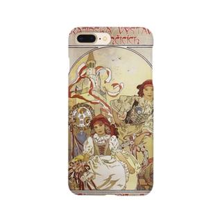 イヴァンチッツェの地方展 ミュシャ    スマホケース Smartphone cases