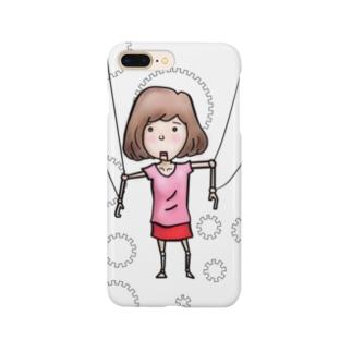 マリコネット Smartphone cases