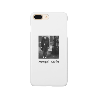 nuwtonの小顔のモンゴルナイフ Smartphone cases