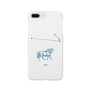 牡羊座 アリエスといっしょ Smartphone cases