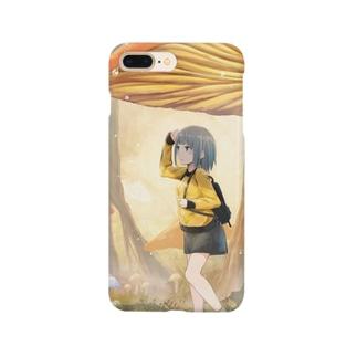 きのこと少女 Smartphone cases