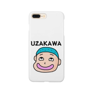 うざかわくん Smartphone cases
