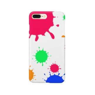 ぽちょぽちょ Smartphone cases