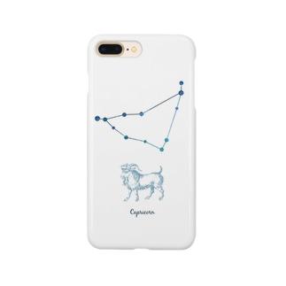 山羊座|カプリコーンといっしょ Smartphone cases