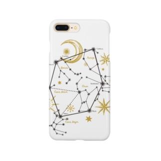 星座|冬空のダイアモンド Smartphone cases