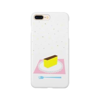 ごちそうカステラ Smartphone cases