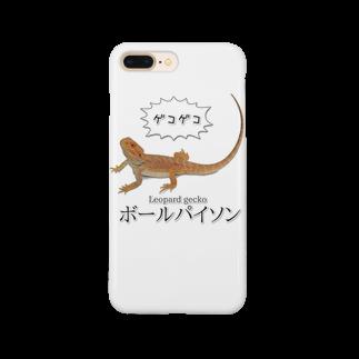 鰐◆WANIの滅裂爬虫類 スマートフォンケース