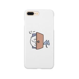 凝視する森クマ Smartphone Case